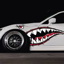 Shark Mouth Decal For Truck