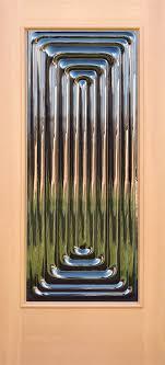 echo sculptural glass doors
