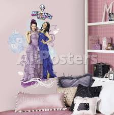 Disney Descendants Mal And Evie Peel And Stick Wall Graphic Wall Decal Allposters Com