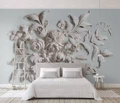 flower wall mural modern home decor