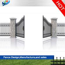 Steel Metal Type And Metal Frame Material Factory Direct Sale Flat Top Tubular Steel Gate Fence Philippines China Swing Gate And Steel Door Price Made In China Com