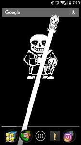 live wallpaper of sans undertale amino