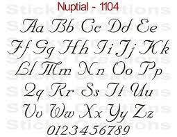1104 Custom Vinyl Letters Script Text Window Decal Sticker Car Graphic Nuptial Ebay