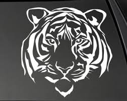 Tiger Decal Etsy