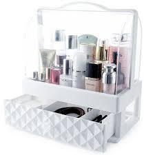 acrylic makeup palette storage drawer