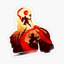 God Of War Stickers Redbubble