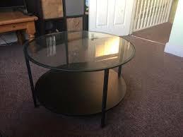 coffee table ikea vittsjÖ black brown