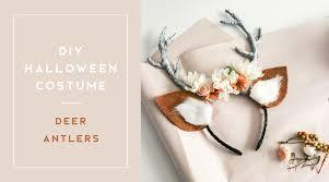 diy deer antlers costume