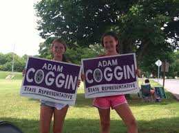 """Adam Coggin on Twitter: """"Two of the top volunteers for Team Coggin! If you  can't vote, volunteer! Thanks ladies!! #getengaged48 http://t.co/xglZ5d481N"""""""