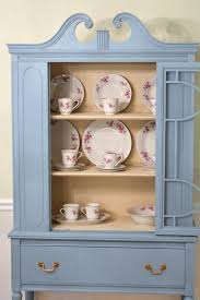 my painted china cabinet makeover