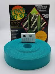 Amazon Com Pexco Fence Weave 250 Roll Aqua Made In The Usa Garden Outdoor