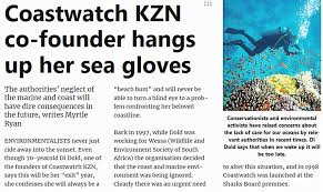 Coastwatch KZN - Coastwatch KZN's co-founder Di Dold has... | Facebook