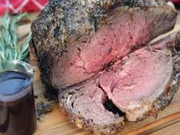 prime rib roast with red wine au jus