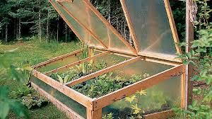 how to build cold frames sunset