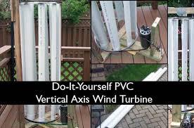 diy pvc vertical axis wind turbine