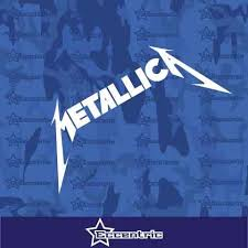 Metallica Band Logo Decal Car Truck Window Sticker Laptop Vinyl Eccentric Mall