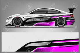 Car Decal Wrap Design Vector Graphic Abstract Stripe Racing Royalty Free Cliparts Vectors And Stock Illustration Image 124859684