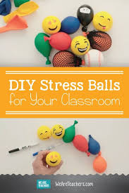 diy stress for your classroom