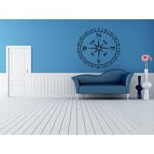 Shop Compass Wall Art Sticker Decal On Sale Overstock 11445322