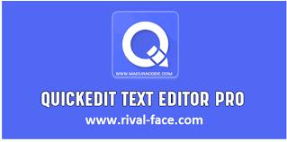 QuickEdit Text Editor Pro 1.5.3 Apk