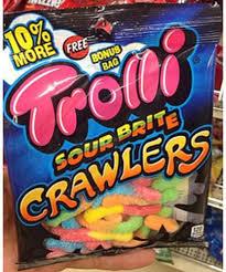 trolli sour brite crawlers 40 g