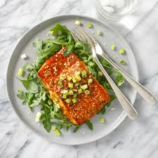 Delicious Maple-Ginger Roasted Salmon ...