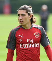 Hector Bellerin of Arsenal during Arsenal 1st team training ...