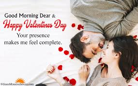 good morning valentine images with love