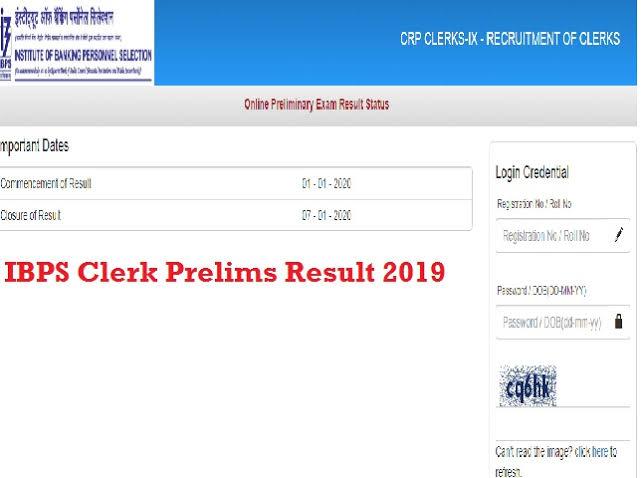 """Image result for ibps clerk result 2020"""""""