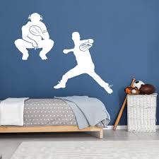 Baseball Battery Wall Decal Labeldaddy