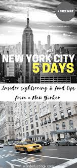 guide to new york city 5 day itinerary