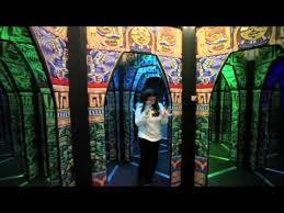Mirror Maze Adventures by Adrian Fisher - YouTube