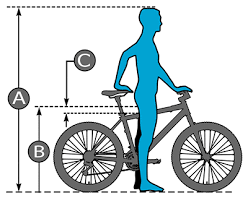 size chart rizer bikes