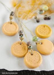 diy clay essential oil diffuser