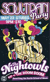 Stubb's- SOUL TRAIN PARTY (Austin School of Music Benefit Concert ...