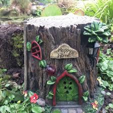 tree stump terra nova fairy garden