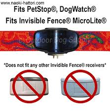 Pet Stop Lupine Dog Collar Replacement Strap Patterns Colors To Pick From