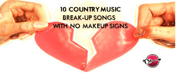 10 country break up songs with no