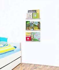 Hendson Wall Mounted Floating Shelves Set Of 3 White Rustic Bookshelf Kid S Room Shelf And Baby Book Shelve Farmhouse Goals