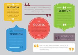 testimonial design consument testimoni client review quote text