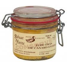 foie gras de canard entier 180g bocal