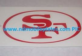 Purchase San Francisco Sf Red Vinyl Car Tattoo Decal Sticker 4 Motorcycle In Easton Pennsylvania United States For Us 3 00
