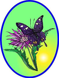 Purple White Butterfly On Magenta Flower Vinyl Stained Glass Film Static Cling Window Decal By Window Art In Vi Window Art Butterfly Decal Magenta Flowers