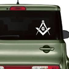 Masonic Freemason Streetbadge