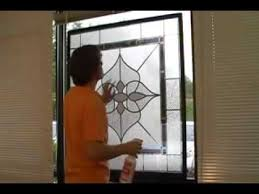 designer window install stained glass