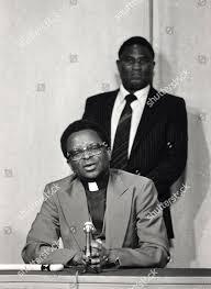 Rhodesian Rebel Leader Bishop Abel Muzorewa Gives Editorial Stock Photo -  Stock Image | Shutterstock