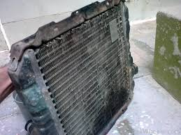 i want diy of radiator cleaning d i y