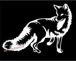 Fox Animal Gun Trap Hunt Trapping Hunting Sticker Country Truck Vinyl Decal Ebay