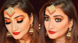 hindi video party makeup tutorial for