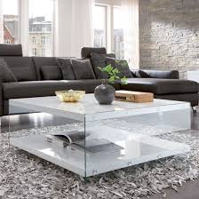 olymp glass top coffee table with high